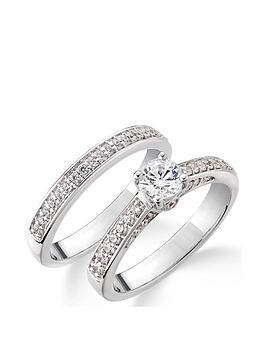 Love DIAMOND Love Diamond 9Ct White Gold 75 Point Diamond (Total) Bridal  ... Picture