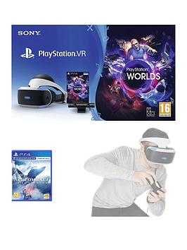 playstation-vr-starter-pack-with-ace-combat-7-skies-unknown-with-optional-extras