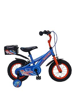 Rocket Pneumatic Tyre Bike Boys Bike 12 Inch Wheel
