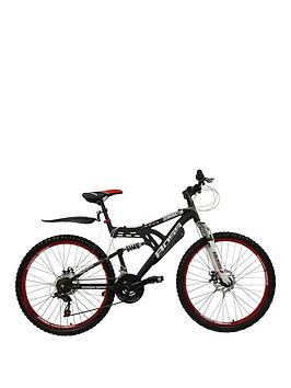 Very  Dominator Dual Suspension Mens Mountain Bike 18 Inch Frame