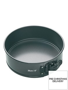 masterclass-non-stick-quick-release-springform-cake-tin-with-loose-base-ndash-20-x-7-cm