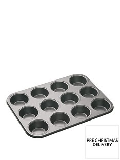 masterclass-12-hole-non-stick-muffin-and-cupcake-tray-ndash-35-x-27-cm