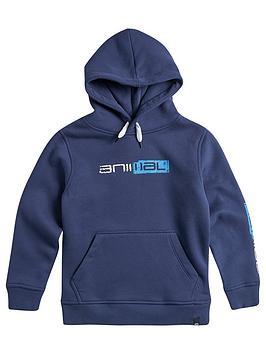 animal-boys-roadie-logo-hoodienbsp--nautical-blue