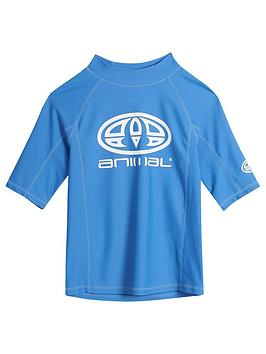 animal-boys-hiltern-short-sleeve-rash-vest-nautical-blue