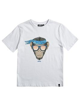 animal-boys-hendrix-monkey-short-sleeve-t-shirt-white