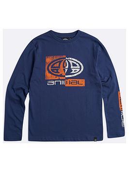 animal-boys-board-long-sleeve-graphic-t-shirt-nautical-blue