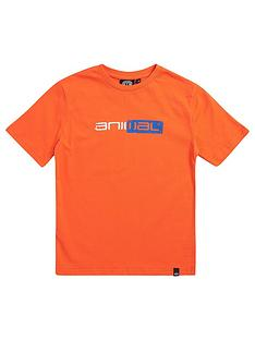 animal-boys-sketchy-short-sleeve-graphic-t-shirt-orange