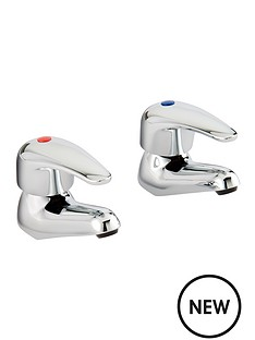 bristan-contemporary-lever-basin-taps-chrome