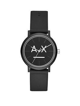 armani-exchange-armani-exchange-lola-black-and-white-logo-dial-black-silicone-strap-ladies-watch