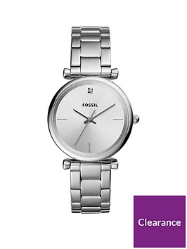 fossil-fossil-carlie-brushed-silver-diamond-dial-stainless-steel-bracelet-ladies-watch