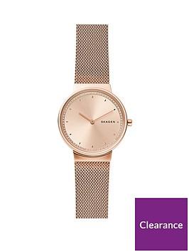 skagen-skagen-rose-gold-dial-rose-gold-stainless-steel-mesh-strap-ladies-watch