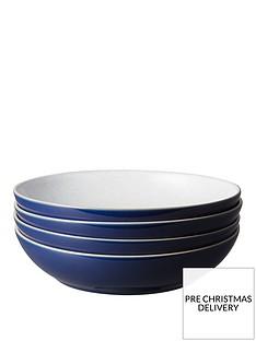 denby-elements-4-piece-pasta-bowl-set-ndash-dark-blue