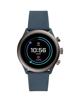 fossil-fossil-full-colour-display-dial-smoke-silicone-strap-smart-watch