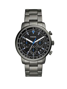 fossil-fossil-goodwin-black-satin-and-blue-detail-chronograph-dial-smoke-stainless-steel-bracelet-mens-watch