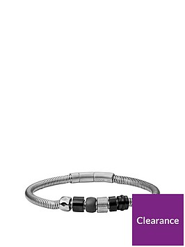 fossil-silver-and-grey-semi-precious-beaded-stainless-steel-mens-bracelet
