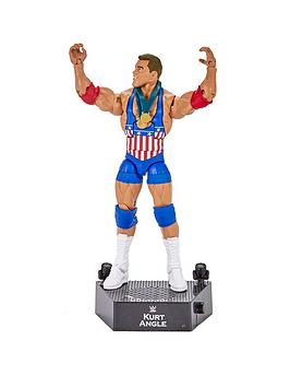 WWE Wwe Wwe Entrance Greats Elite Figure . Kurt Angle Picture