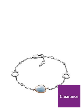 fossil-vintage-iconic-silver-and-blue-glass-ladies-bracelet