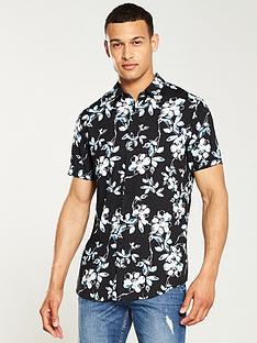 v-by-very-floral-print-shirt-navy