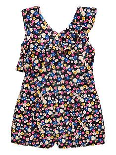 v-by-very-girls-floral-print-ruffle-playsuitnbsp--multi