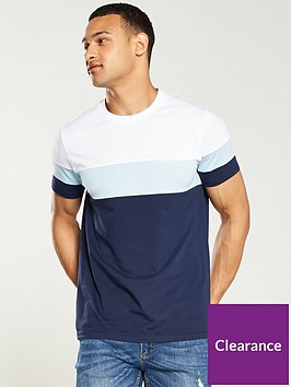 v-by-very-cut-amp-sew-colour-block-t-shirt-navyblue