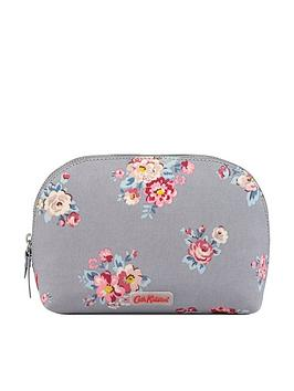 cath-kidston-islington-bunch-curved-make-up-bag-grey