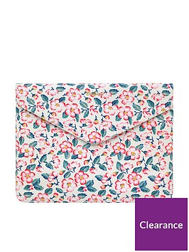 cath-kidston-climbing-blossom-13-inch-smart-tablet-sleeve-cream