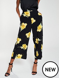 warehouse-katy-floral-culottes