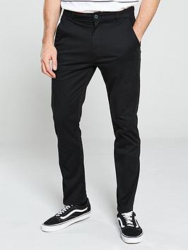 V by Very V By Very Stretch Chinos - Black Picture