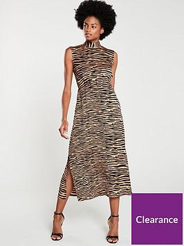 warehouse-animal-mix-dress