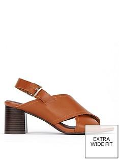 evans-evans-extra-wide-fit-cross-over-flared-heel-sandal
