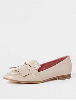 river-island-river-island-snaffle-detail-loafer-nude