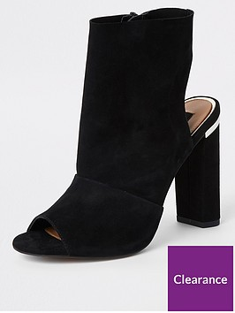 river-island-raw-edge-shoeboot-black
