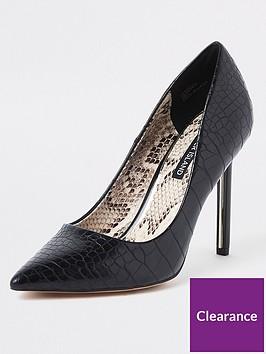river-island-river-island-skinny-heel-court-shoe-black