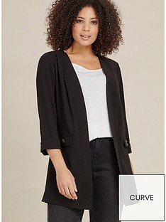 evans-short-crepe-jacket