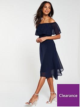 wallis-hotfix-embellished-bardot-dress