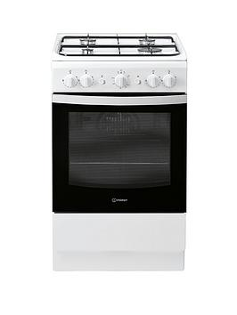 indesit-is5g1kmw-50cmnbspwide-gas-single-oven-cooker-white