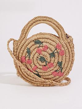 warehouse-cherry-circle-straw-bag