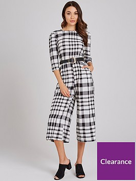 girls-on-film-gingham-tie-back-culotte-jumpsuit-black-white