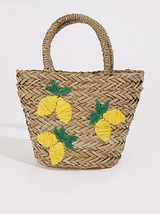 warehouse-lemon-straw-bucket-bag