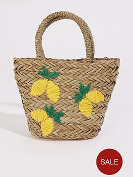 warehouse-lemon-straw-bucket-bag