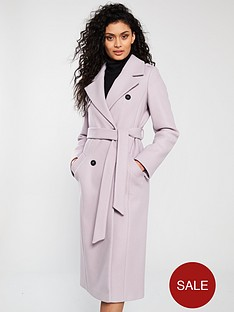 river-island-belted-trench-coat-lilac