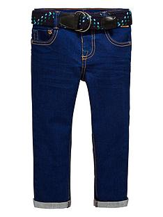 4ccea471e6d4 Baker by Ted Baker Toddler Boys Colbalt Jeans with Belt - Blue