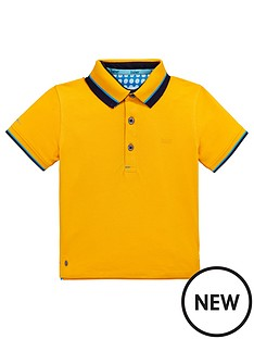 8fcfc34ccc6dea Baker by Ted Baker Toddler Boys Icon Polo Shirt - Mustard ...