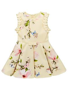 cd8299aea Baker by Ted Baker Toddler Girls Harmony Floral Scuba Dress - Yellow