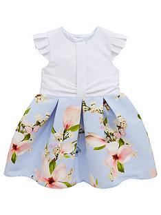 c09f4442befb Baker by Ted Baker Toddler Girls Harmony Mockable Dress - Light Blue