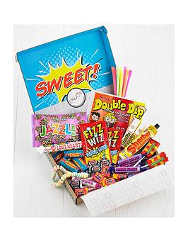 Very Retro Sweets Letterbox Hamper Picture