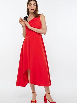 monsoon-peri-one-shoulder-midi-dress-red