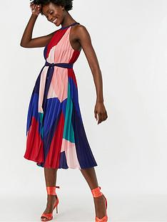 monsoon-coco-print-pleat-trapeze-midi-dress-multi