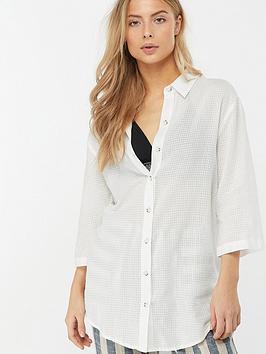 monsoon-sydney-longline-shirt-white