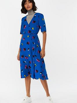 monsoon-bobby-brush-stroke-print-wrap-midi-dress-cobalt-blue